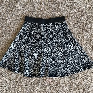 Xhileration thick knitted skirt
